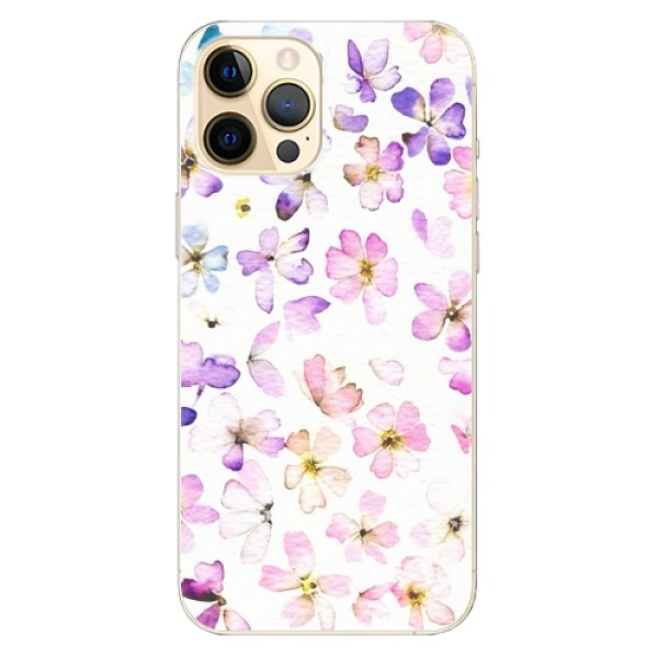 Odolné silikonové pouzdro iSaprio - Wildflowers - iPhone 12 Pro
