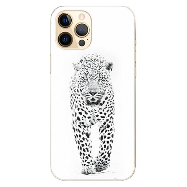 Odolné silikonové pouzdro iSaprio - White Jaguar - iPhone 12 Pro