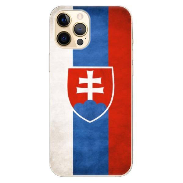 Odolné silikonové pouzdro iSaprio - Slovakia Flag - iPhone 12 Pro