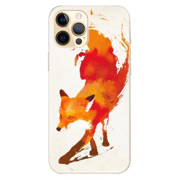 Odolné silikonové pouzdro iSaprio - Fast Fox - iPhone 12 Pro