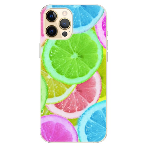 Odolné silikonové pouzdro iSaprio - Lemon 02 - iPhone 12 Pro
