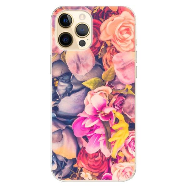 Odolné silikonové pouzdro iSaprio - Beauty Flowers - iPhone 12 Pro