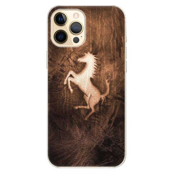 Odolné silikonové pouzdro iSaprio - Vintage Horse - iPhone 12 Pro