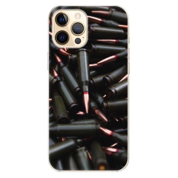 Odolné silikonové pouzdro iSaprio - Black Bullet - iPhone 12 Pro