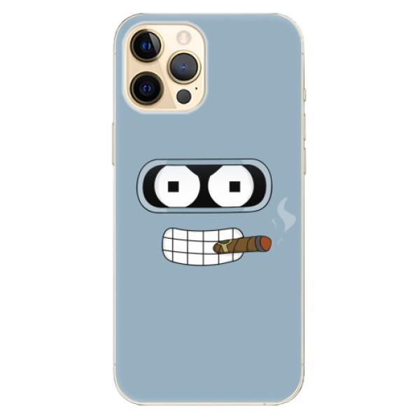 Odolné silikonové pouzdro iSaprio - Bender - iPhone 12 Pro