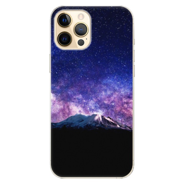 Odolné silikonové pouzdro iSaprio - Milky Way - iPhone 12 Pro