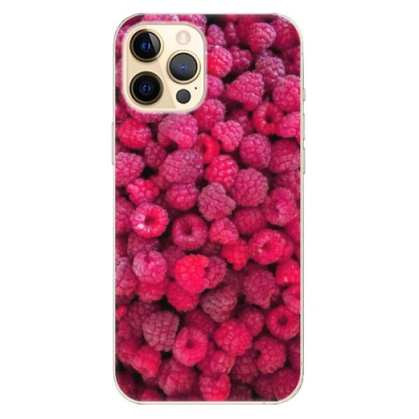Odolné silikonové pouzdro iSaprio - Raspberry - iPhone 12 Pro