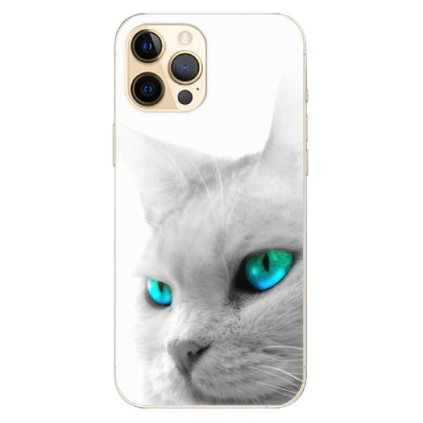 Odolné silikonové pouzdro iSaprio - Cats Eyes - iPhone 12 Pro