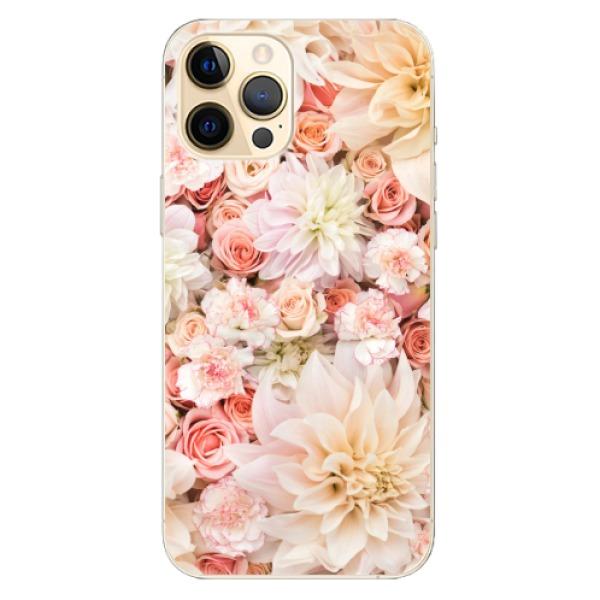 Odolné silikonové pouzdro iSaprio - Flower Pattern 06 - iPhone 12 Pro