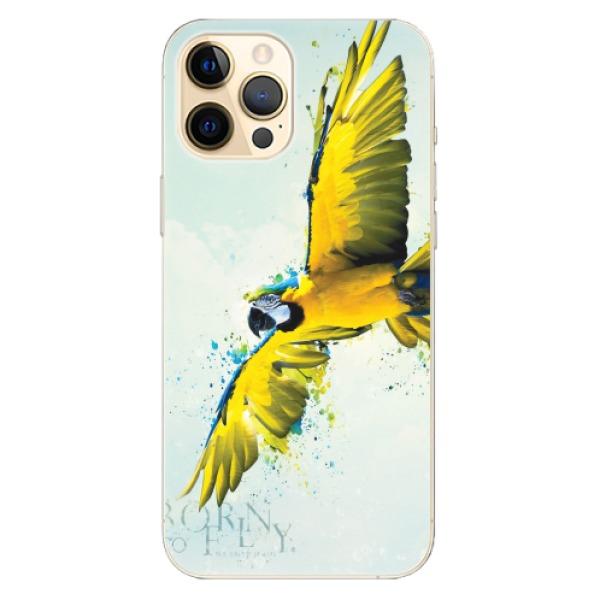 Odolné silikonové pouzdro iSaprio - Born to Fly - iPhone 12 Pro