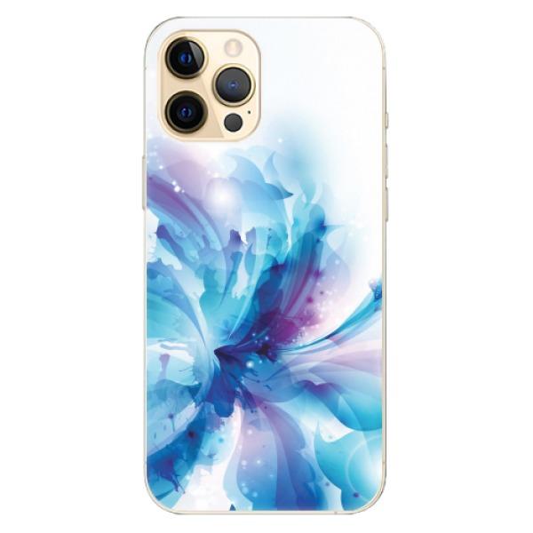 Odolné silikonové pouzdro iSaprio - Abstract Flower - iPhone 12 Pro