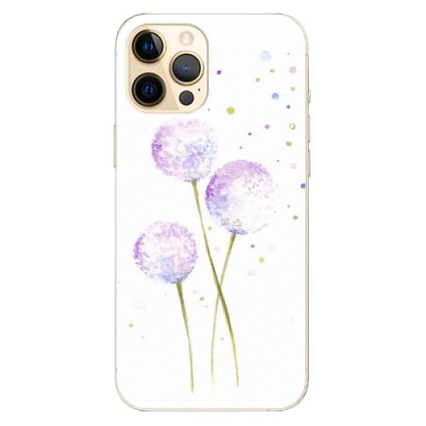 Odolné silikonové pouzdro iSaprio - Dandelion - iPhone 12 Pro