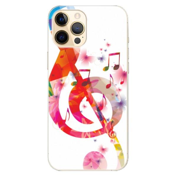 Odolné silikonové pouzdro iSaprio - Love Music - iPhone 12 Pro