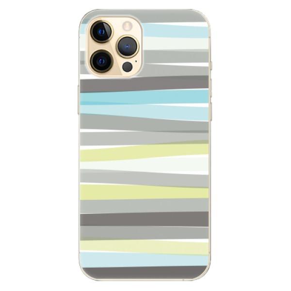 Odolné silikonové pouzdro iSaprio - Stripes - iPhone 12 Pro