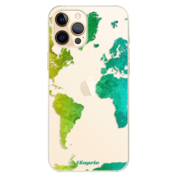 Odolné silikonové pouzdro iSaprio - Cold Map - iPhone 12 Pro