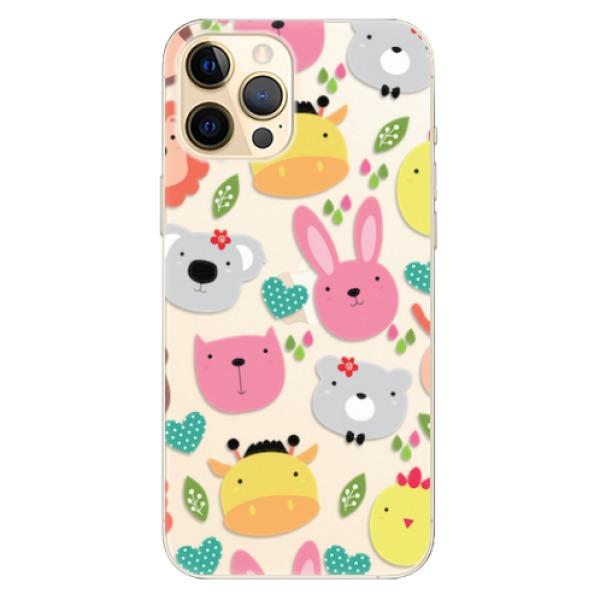 Odolné silikonové pouzdro iSaprio - Animals 01 - iPhone 12 Pro