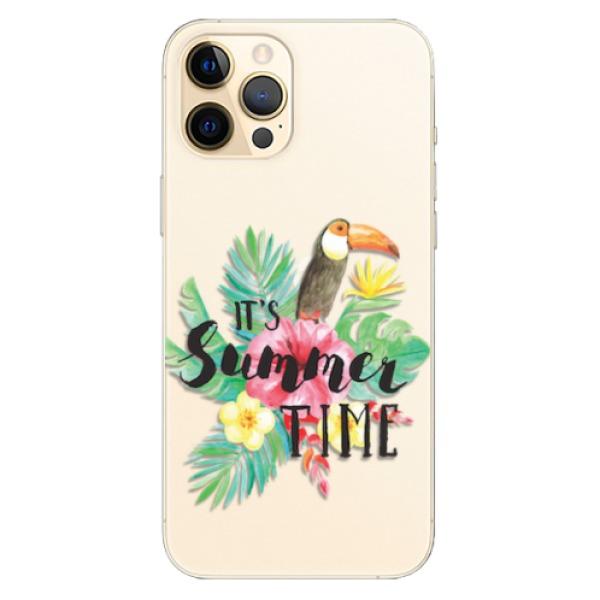 Odolné silikonové pouzdro iSaprio - Summer Time - iPhone 12 Pro