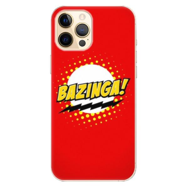 Odolné silikonové pouzdro iSaprio - Bazinga 01 - iPhone 12 Pro Max