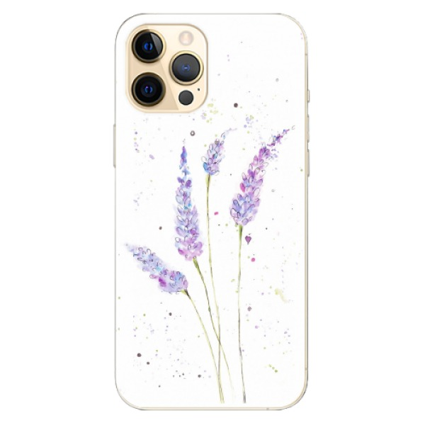 Odolné silikonové pouzdro iSaprio - Lavender - iPhone 12 Pro Max