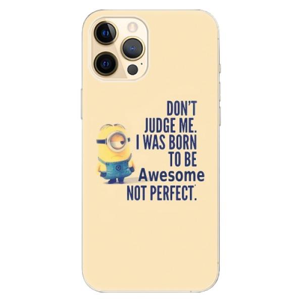 Odolné silikonové pouzdro iSaprio - Be Awesome - iPhone 12 Pro Max