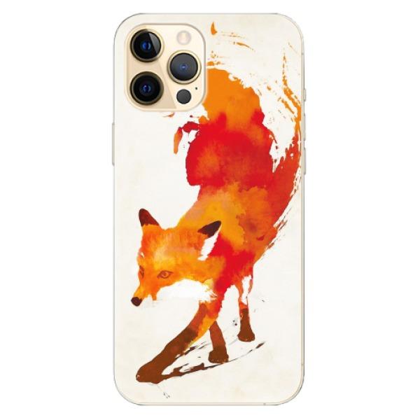 Odolné silikonové pouzdro iSaprio - Fast Fox - iPhone 12 Pro Max