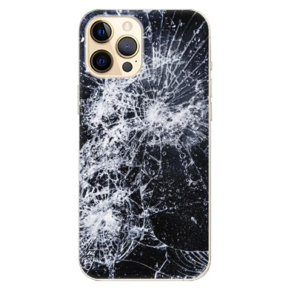 Odolné silikonové pouzdro iSaprio - Cracked - iPhone 12 Pro Max
