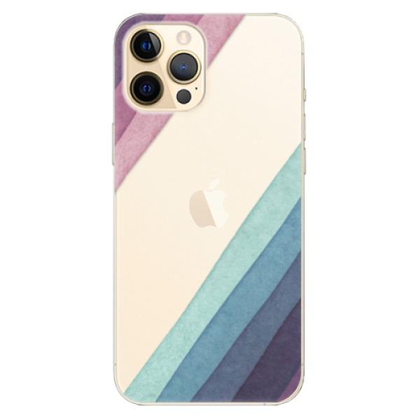 Odolné silikonové pouzdro iSaprio - Glitter Stripes 01 - iPhone 12 Pro Max