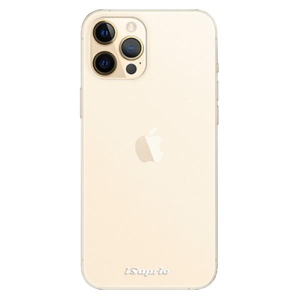 Odolné silikonové pouzdro iSaprio - 4Pure - mléčný bez potisku - iPhone 12 Pro Max