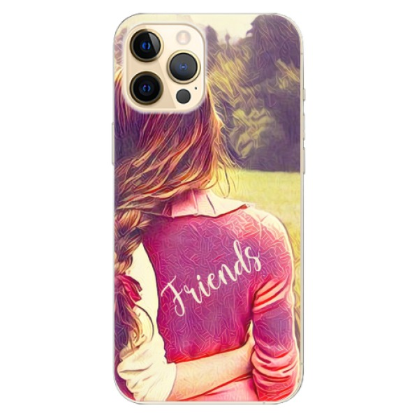 Odolné silikonové pouzdro iSaprio - BF Friends - iPhone 12 Pro Max