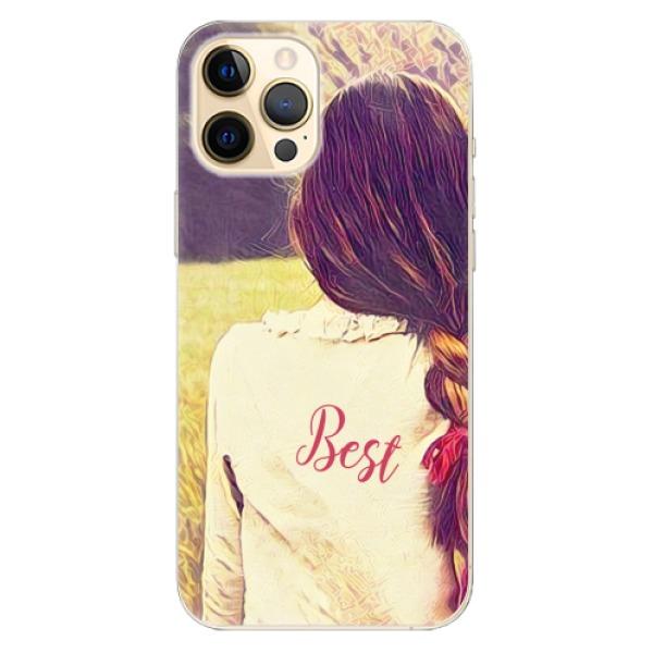 Odolné silikonové pouzdro iSaprio - BF Best - iPhone 12 Pro Max