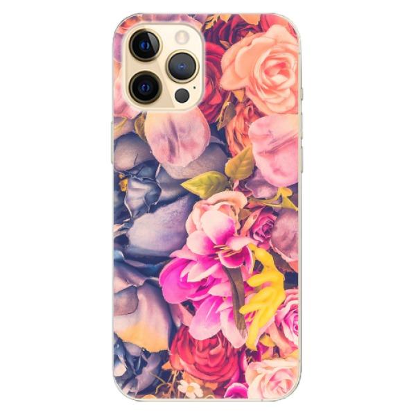 Odolné silikonové pouzdro iSaprio - Beauty Flowers - iPhone 12 Pro Max