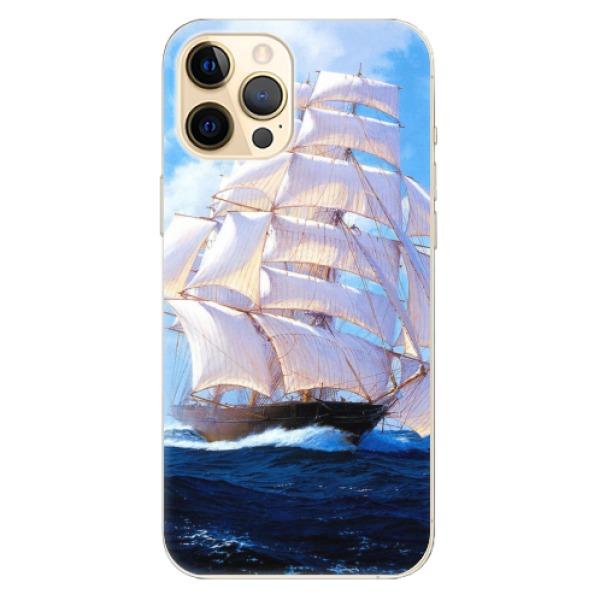 Odolné silikonové pouzdro iSaprio - Sailing Boat - iPhone 12 Pro Max