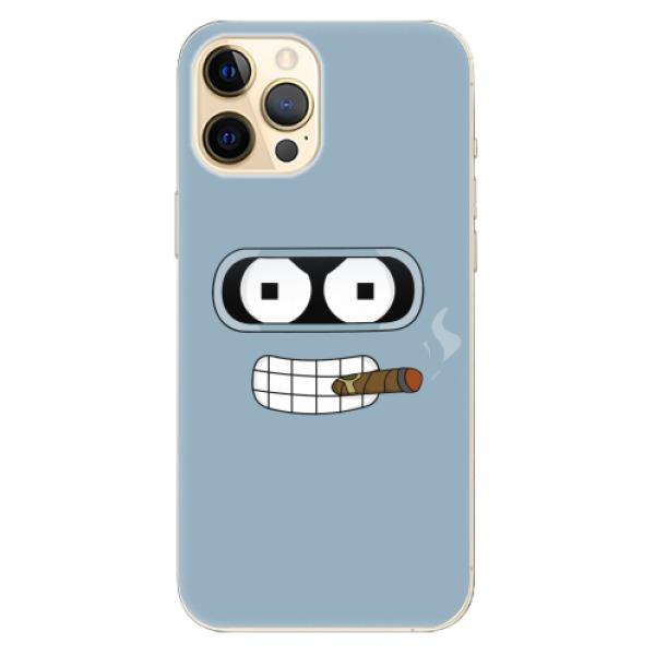 Odolné silikonové pouzdro iSaprio - Bender - iPhone 12 Pro Max