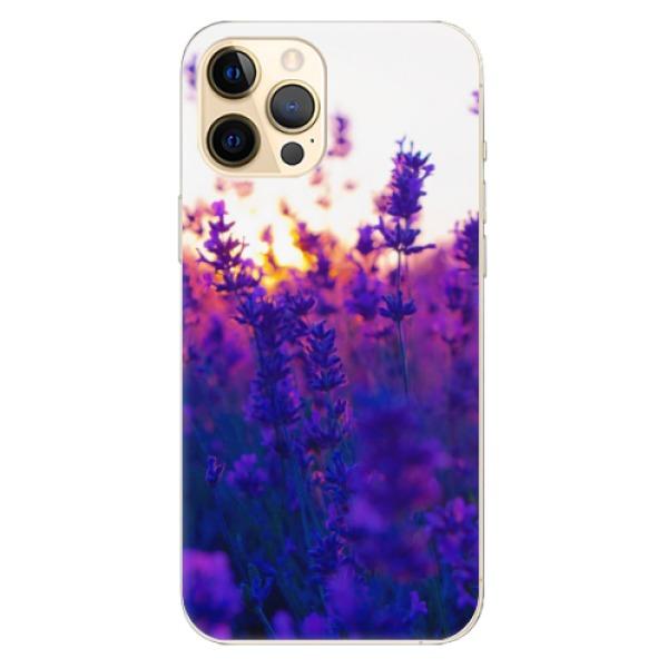 Odolné silikonové pouzdro iSaprio - Lavender Field - iPhone 12 Pro Max