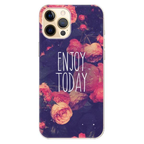 Odolné silikonové pouzdro iSaprio - Enjoy Today - iPhone 12 Pro Max