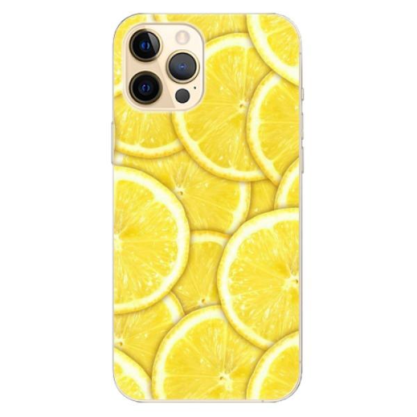 Odolné silikonové pouzdro iSaprio - Yellow - iPhone 12 Pro Max