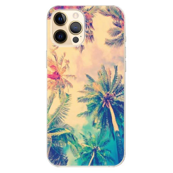 Odolné silikonové pouzdro iSaprio - Palm Beach - iPhone 12 Pro Max
