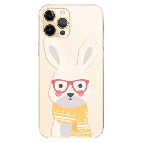 Odolné silikonové pouzdro iSaprio - Smart Rabbit - iPhone 12 Pro Max
