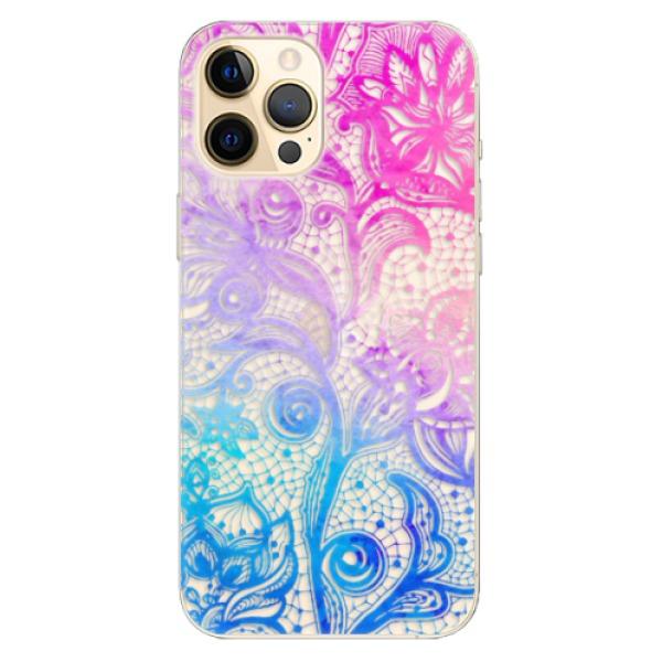 Odolné silikonové pouzdro iSaprio - Color Lace - iPhone 12 Pro Max