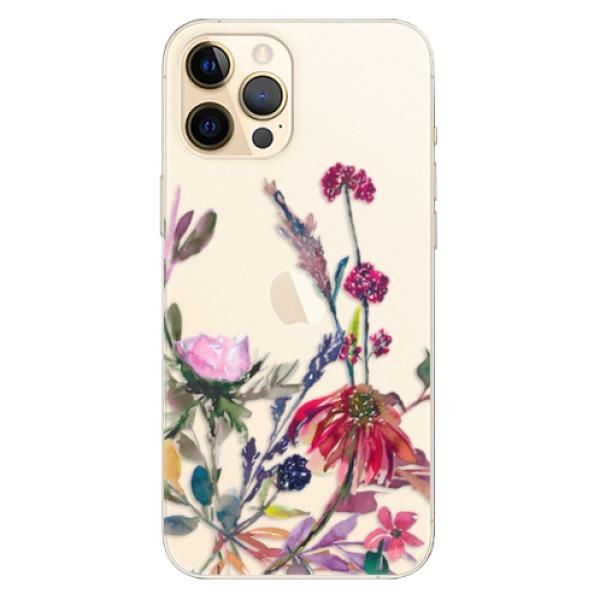 Odolné silikonové pouzdro iSaprio - Herbs 02 - iPhone 12 Pro Max