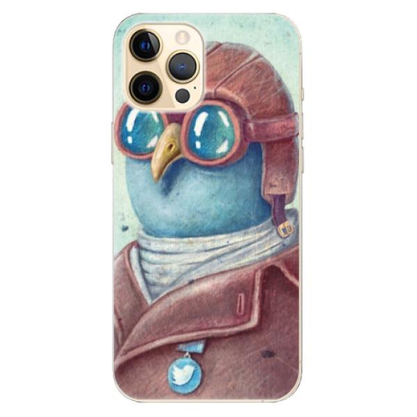 Odolné silikonové pouzdro iSaprio - Pilot twitter - iPhone 12 Pro Max