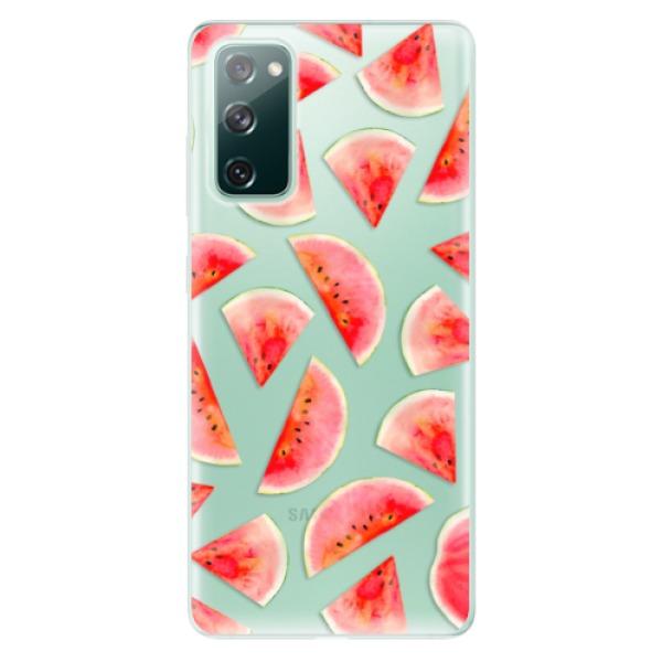 Odolné silikonové pouzdro iSaprio - Melon Pattern 02 - Samsung Galaxy S20 FE