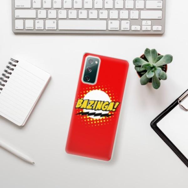 Odolné silikonové pouzdro iSaprio - Bazinga 01 - Samsung Galaxy S20 FE
