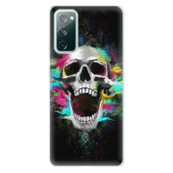 Odolné silikonové pouzdro iSaprio - Skull in Colors - Samsung Galaxy S20 FE