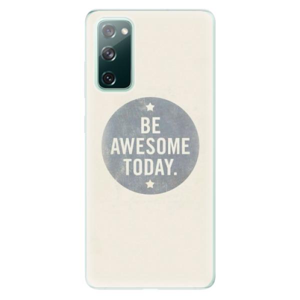 Odolné silikonové pouzdro iSaprio - Awesome 02 - Samsung Galaxy S20 FE