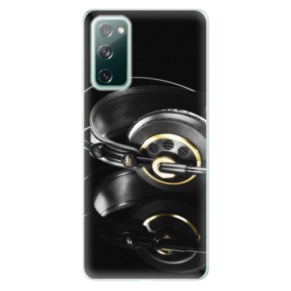 Odolné silikonové pouzdro iSaprio - Headphones 02 - Samsung Galaxy S20 FE