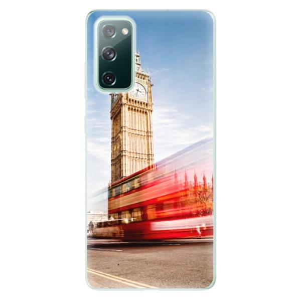 Odolné silikonové pouzdro iSaprio - London 01 - Samsung Galaxy S20 FE