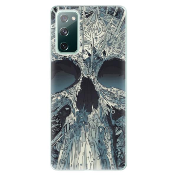 Odolné silikonové pouzdro iSaprio - Abstract Skull - Samsung Galaxy S20 FE