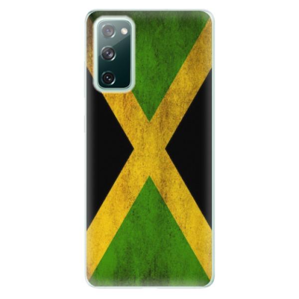 Odolné silikonové pouzdro iSaprio - Flag of Jamaica - Samsung Galaxy S20 FE