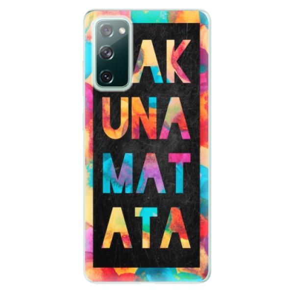 Odolné silikonové pouzdro iSaprio - Hakuna Matata 01 - Samsung Galaxy S20 FE